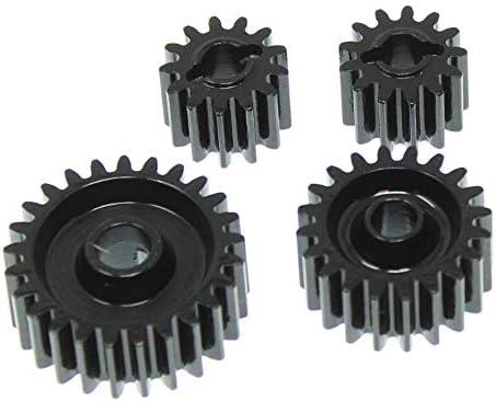 Redcat Racing RER11474 CNC Steel Gear Set for Gen 8 Scout II Transmission Transfer Case Black product image