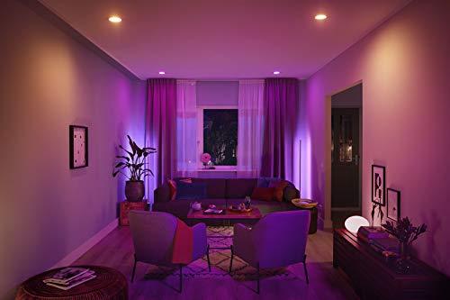 Philips Hue LED Lampe E27, 3. Generation, Einzellampe, dimmbar, 16 Mio Farben, app-gesteuert - 4