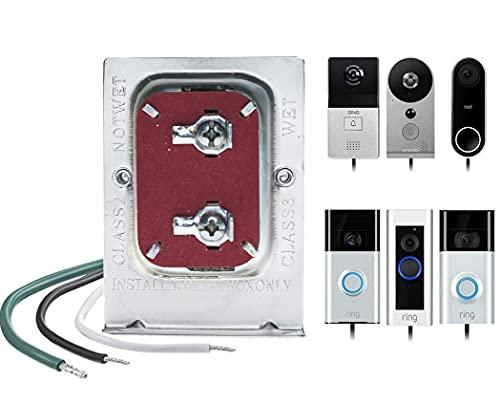 Doorbell Transformer, 16V, 30VA Comptible with Ring Pro,Nest hello