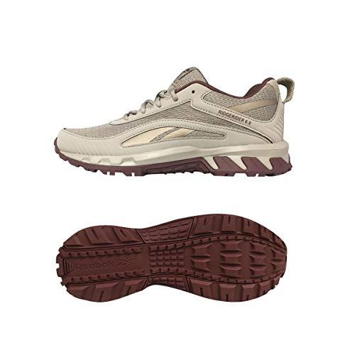 Reebok Ridgerider 6.0, Zapatillas Deportivas Mujer, BOUGRY/RICRED/GOLBRO, 38.5 EU