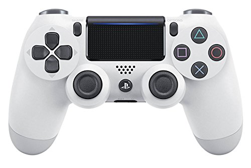 PlayStation 4 - Dualshock 4 Controller Wireless V2, Bianco (Glacier White)