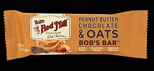 Bob's Red Mill Peanut Butter Chocolate and Oats Bob's Bar, 12 Count