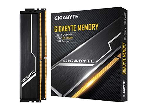 Gigabyte Memory 2666MHz DDR4 16GB (2x8GB) Kit Desktop Memory (GP-GR26C16S8K2HU416)