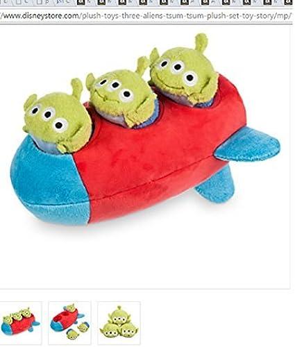 ahorra hasta un 50% Disney - - - Three Aliens ''Tsum Tsum'' Plush Set - Toy Story - New by Disney  tienda hace compras y ventas