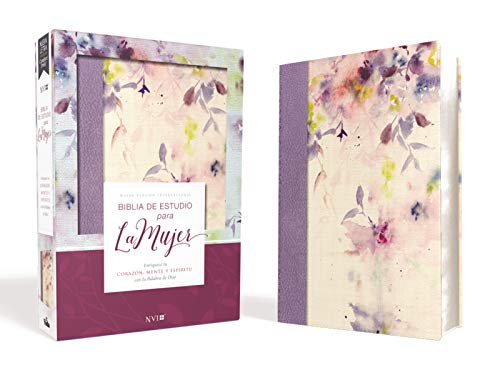 Compare Textbook Prices for Biblia de Estudio para la Mujer NVI, Leathersoft/Tela Lila Spanish Edition  ISBN 9781400210596 by Nueva Versión Internacional