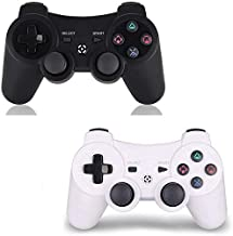 PS3 Controller Wireless 2 Pack – for Dualshock 3 Remote for Playstation 3,DS3..