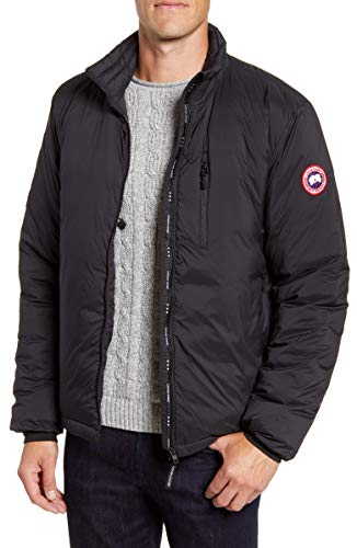 Lodge Packable 750 Fill Power Down Jacket Black (M, Black)