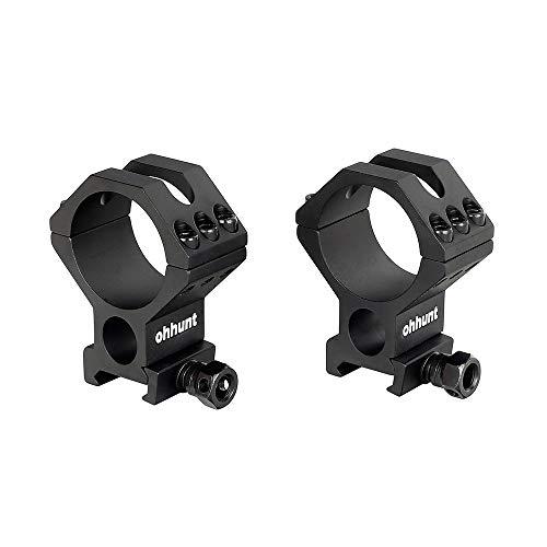 ohhunt Scope Rings Mounts High Profile Picatinny fits 30mm 34mm 35mm Tube Diameter Optics