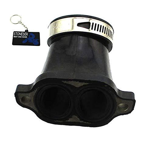 STONEDER Adaptateur d'admission de collecteur de carburateur pour Polaris 1253415 Polaris Sportsman 700 4X4 Polaris Sportsman 600 4X4