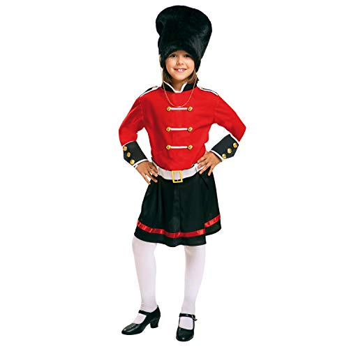 My Other Me Me-200943 Policía Disfraz de guardia inglesa para niña, 10-12 años (Viving Costumes 200943)