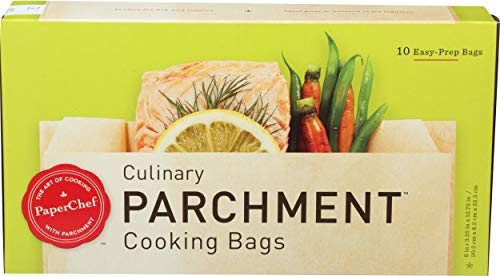 PaperChef Culinary Parchment Cooking Bags, 10-ct