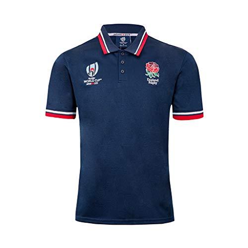 Rugby New Jersey 2019 Copa del Mundo Inglaterra Camisa de Po