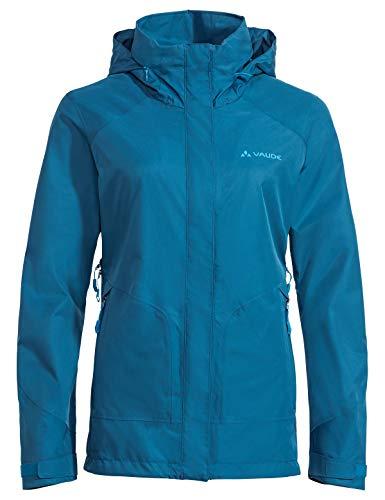 VAUDE Damen Jacke Women's Elope Jacket, Kingfisher, 38, 42227