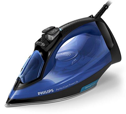 Plancha Philips GC3920/20 sin ajuste de temperatura, color azul, 2,500W