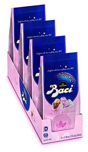 Perugina Baci Ruby Bag Limited Edition, 3.96 Oz, (Pack Of 4)