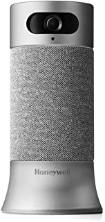 Honeywell RCHS5200WF1004/W Smart Home Security Camera Base station with Alexa built in, Gray