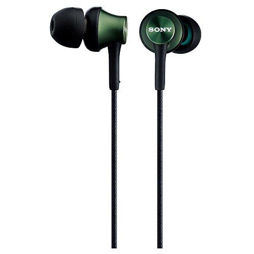 Sony In-Ear-Kopfhörer MDR-EX450-G (Metallgrün)
