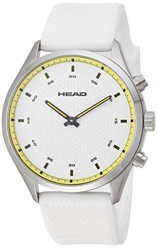 Head Reloj Analógico para Unisex Adultos de Cuarzo con Correa en Silicona HE-002-03
