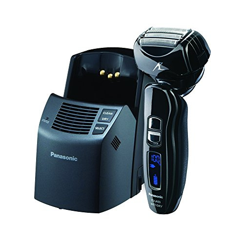 Panasonic Arc4 Electric Razor for Men ES-LA63-S, 4-Blade Cordless with Wet/Dry Shaver