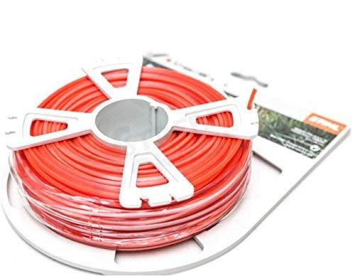 Photo of Genuine Stihl Strimmer Wire 2.7mm x 68m Square Red Line