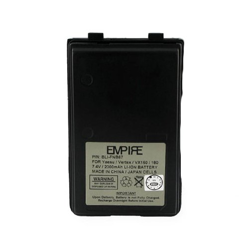 Read About Empire 2-Way Radio Battery, Works with Vertex VX-130 2-Way Radio, (Li-Ion, 2200 mAh) Ultr...