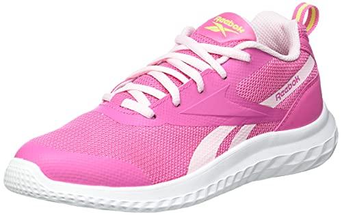 Reebok Rush Runner 3.0, Zapatillas de Running Mujer, KICPNK/PORPNK/YELLWF, 38 EU