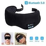 Bluetooth Schlafmaske, HailiCare Nachtmaske Augen Bluetooth 5.0 Wireless Musik Schlafaugenmaske mit...