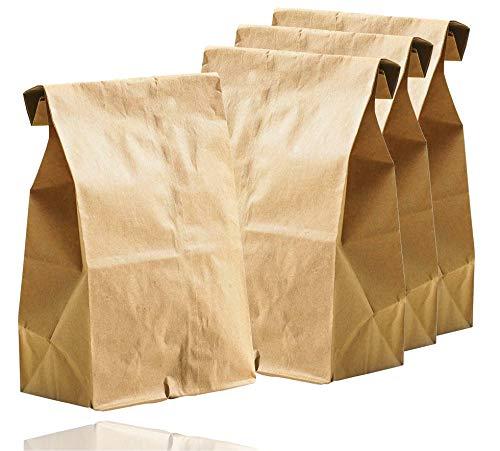 250x braune Beutel 265 x 170 mm Kraftpapiertüten aus Kraftpapier als DIY Adventskalender Tüten Beutel Papiertüten zum befüllen