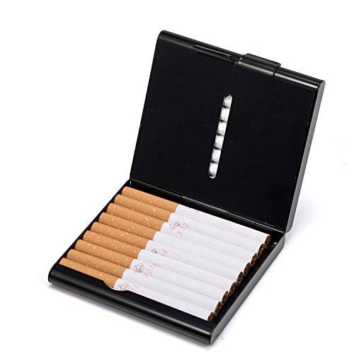HBF Zigarettenetui aus Full Metall umweltfreundlich glatt wie das Spiegel, stilvolles Design und besonderem Qualitäten