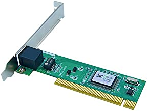 Jeirdus RTL8139D 8139D 10/100M RJ45 Ethernet Network LAN PCI Wired Network Card Adapter 10/100Mbps NIC