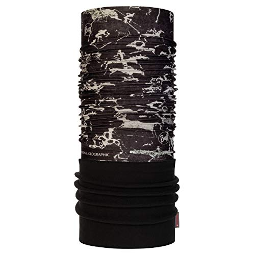 Buff Altai Tour de cou polaire National Geographic Noir FR : Taille Unique (Taille Fabricant : Taille One sizeque)