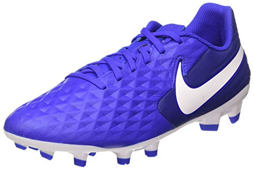 Nike Tiempo Legend 8 Academy FG Soccer Cleats (M10/W11.5, Blue/White-M)