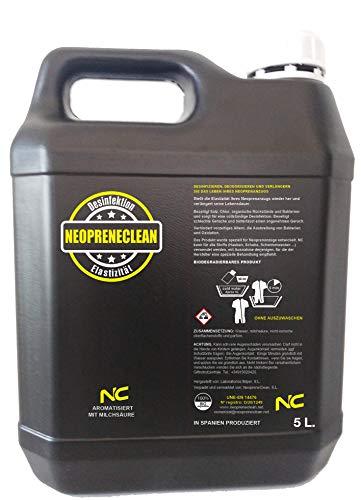 NeopreneClean 5 litros. Producto Recomendado por la FES. Desinfecta, desodoriza y conserva la Elasticidad.
