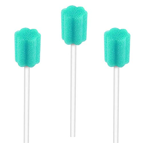 Disposable Oral Swabs Mouth Cleaning Sponge Unflavored Tooth Care Swabs Individually Wrapped