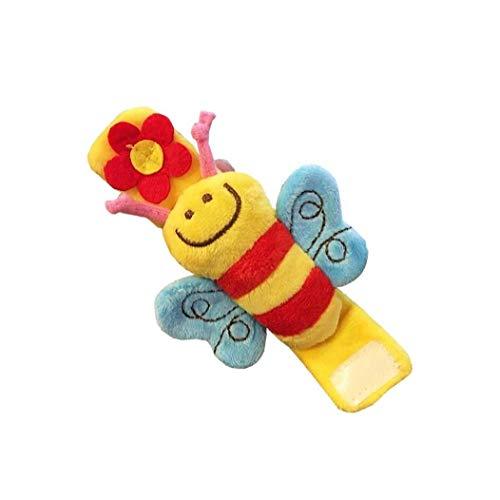 Maidi Bell de Mano de Juguete de Felpa Felpa del bebé de los niños de Dibujos Animados león de Peluche de Juguete Jingle Bell Actividad de Aprendizaje marioneta de Mano del Juguete del bebé niños