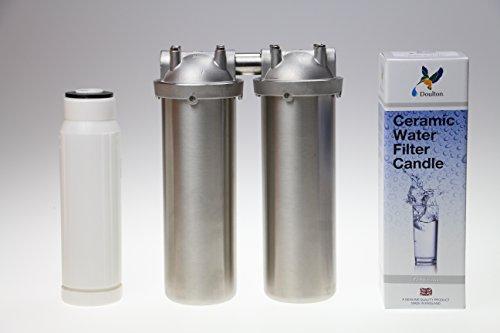 Quellklar Nitrat-Duo-Küchenfilter für gesundes Trinkwasser,Untertischeinbau