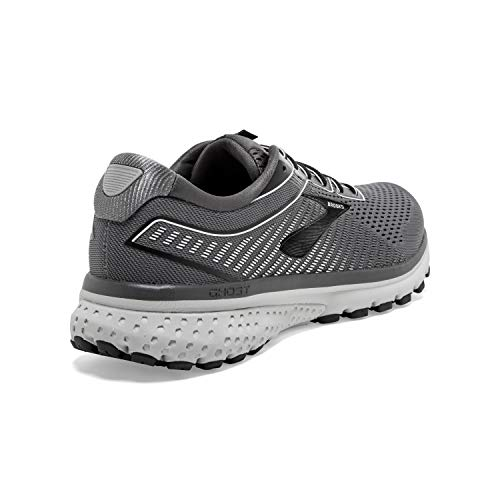 Brooks Mens Ghost 12 Running Shoe - Black/Pearl/Oyster - 2E - 11.0 4