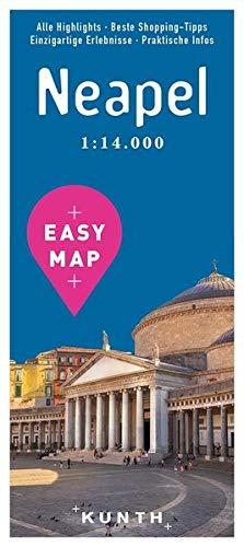 EASY MAP Neapel: 1:14.000 (KUNTH EASY MAP / Reisekarten)