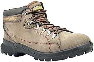 Miller Leather Safety Shoes (Mil-MHR)