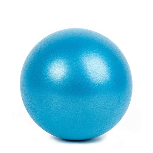 HDDFG Pelota de Yoga 25CM Ejercicio Gimnasia Fitness Pilates Pelota de Equilibrio Ejercicio Gimnasio Fitness Yoga Core Ball Entrenamiento Interior Pelota de Yoga (Color : Blue)