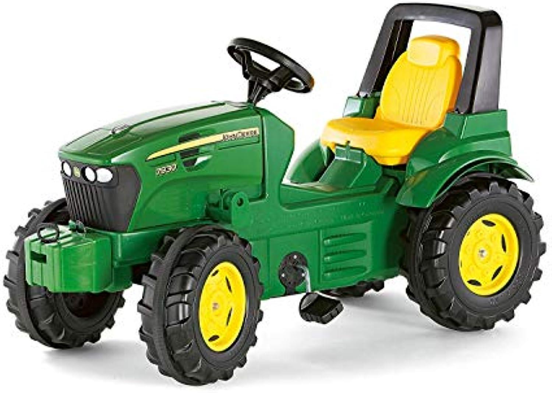 Rolly Toys rollyFarmtrac John Deere 7930 (Sitz verstellbar, Flüsterlaufreifen, Alter 3-8 Jahre, Front- und Heckkupplung) 700028