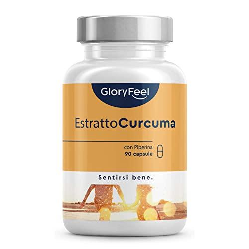 Integratore Estratto di Curcuma (95%) ad Alto...
