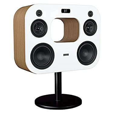 Fluance Fi70W Three-Way Wireless High Fidelity Music System with Powerful Amplifier & Dual 8  Subwoofers (Lucky Bamboo)
