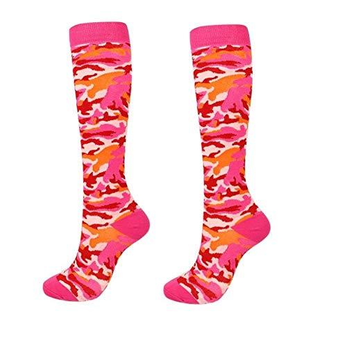 3 Pairs Of Nylon Compression Socks Women Men High Knee Socks Nursing Hiking Travel Flying Socks Running Fitness Socks LATT LIV