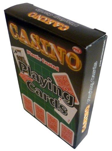 PARTYRama PMS Spielkarten, hochwertig, kunststoffbeschichtet, 12 Stück in D/BO
