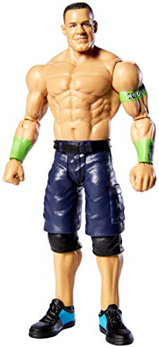 WWE Top Picks John Cena 6-inch Action Figures with Articulation & Life-Like Detail