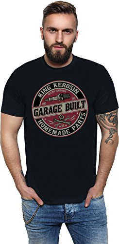 King Kerosin Garage Built Regular T-Shirt Schwarz XL