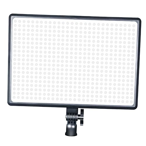 prasku Panel de iluminación de Video LED Regulable 3000K-6000K Luz DSLR Cámara Videocámara Stream