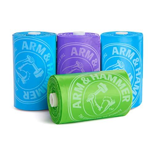 Munchkin Arm and Hammer Diaper Bag Refills, 6 Pack, 72 Bags