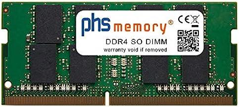 PHS-memory 32GB RAM módulo para HP ProBook 250 G5 (i3/i5/i7 7th Gen) DDR4 SO DIMM 2666MHz PC4-2666V-S
